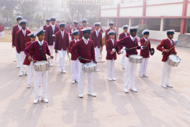 St Francis School For The Hearing Impaired-Band Troop
