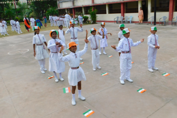 St Francis School For The Hearing Impaired-Republic Day