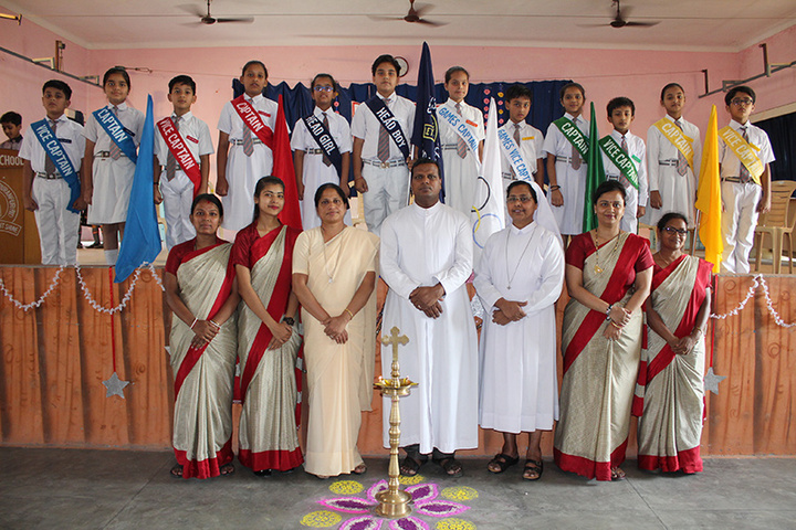 St Josephs School-Investiture Ceremony