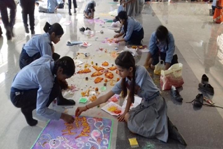 St Mary s Christian School-Rangoli Competition