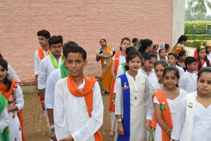 St Marys Convent School-Republic Day