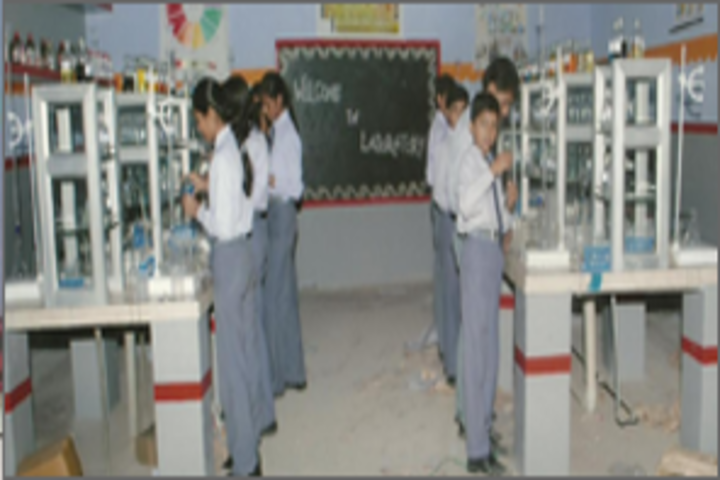 St R C Scientific Convent School-Chemistry Lab