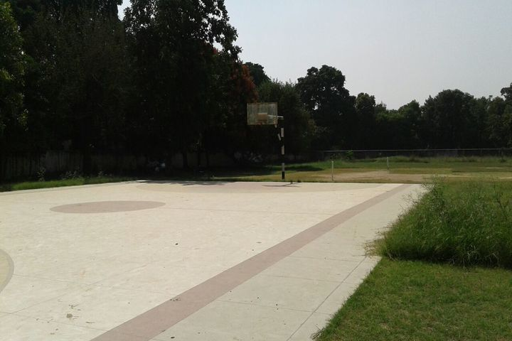 Government Model High School-Basket Ball Court