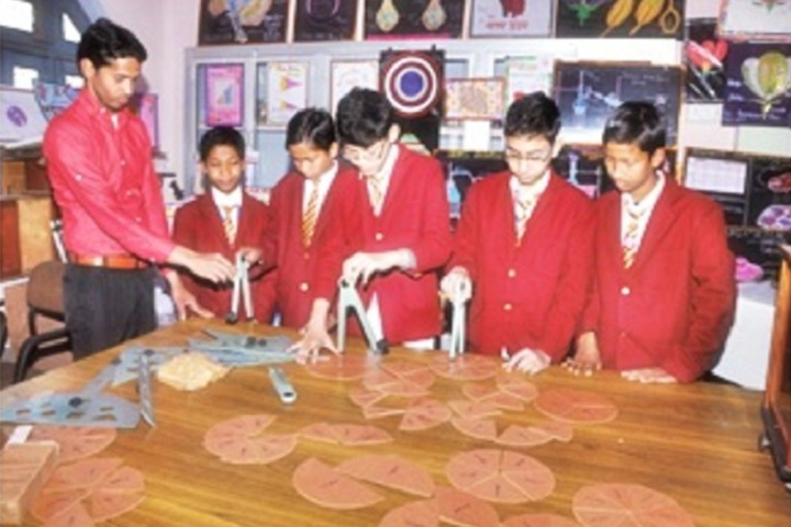 St Vivekanand International School-Maths Lab