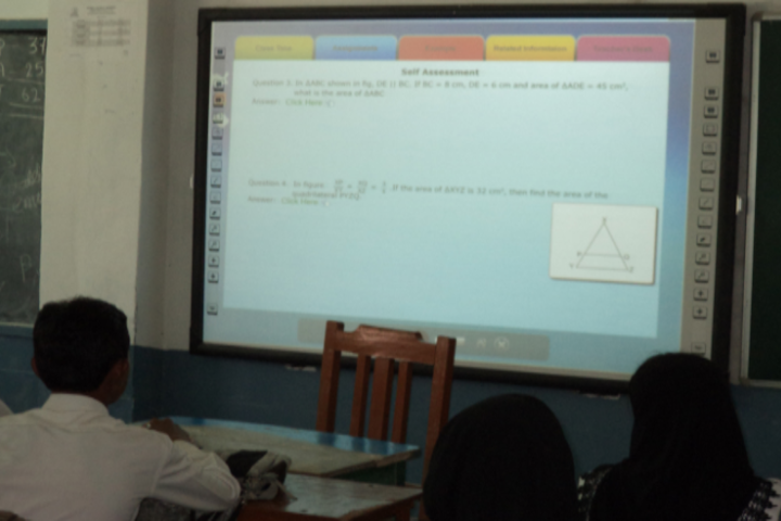 St Xavier School-Class Room