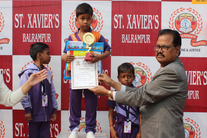 St Xaviers High School-Prize Distribution