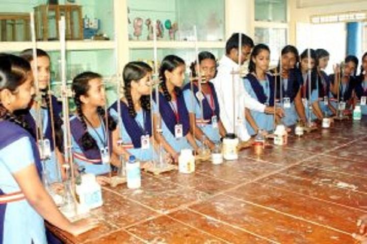 Gnanabharati English Medium School-Chemistry Lab