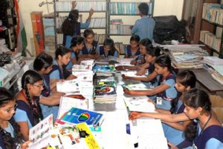 Gnanabharati English Medium School-Library