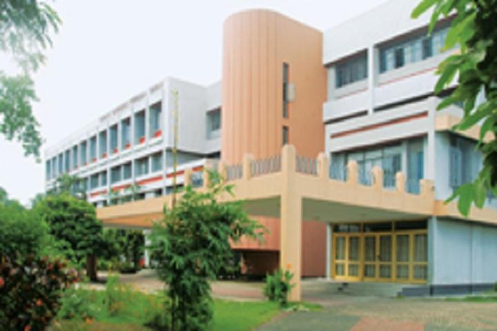 St Xaviers High School-School building