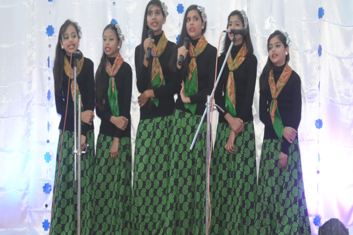 St A B R Public School-Singining