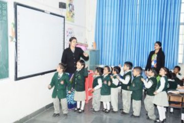 St Aerjay Public School-Activity