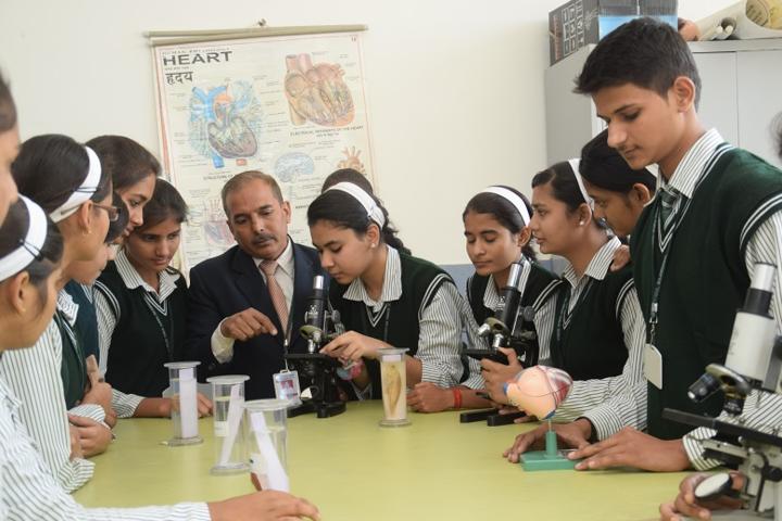 St Aerjay Public School-Bio Lab