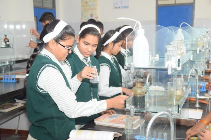 St Aerjay Public School-Chemistry Lab