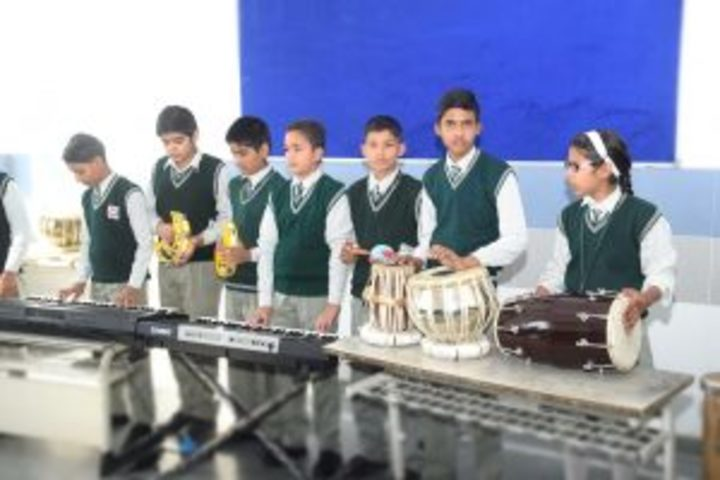St  Aerjay Public School-Music