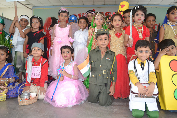 St Aloysius College-Fancy Dress Competition