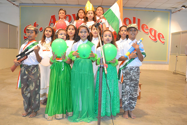 St Aloysius College-Independence Day