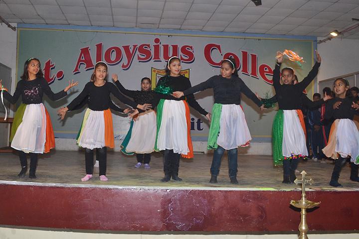 St Aloysius College-Republic Day