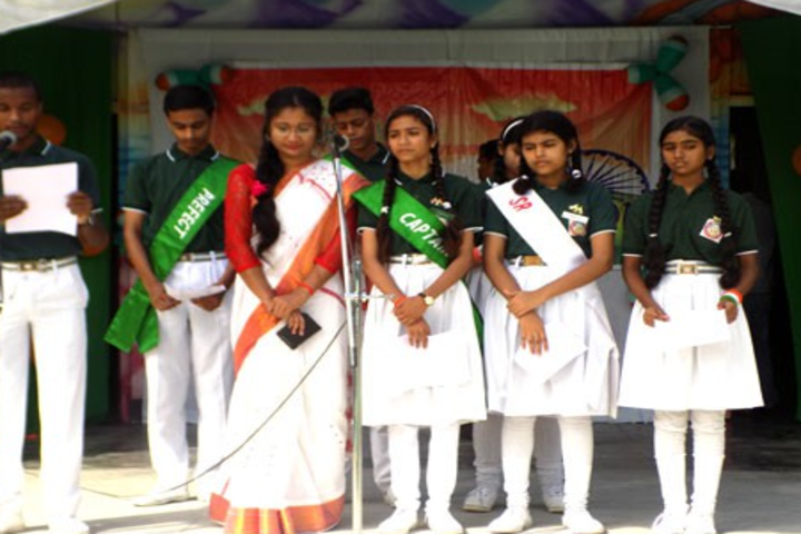 St Aloysius School-Independence Day