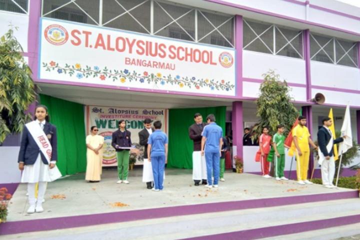 St Aloysius School-Investitiure Cermony