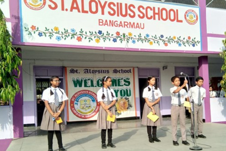 St Aloysius School-Special Assembly
