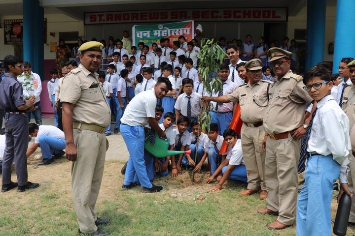 St Andrews Public School-Tree Plantation