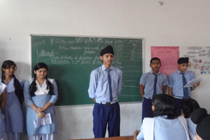St Anthony Public School-Classroom Activity