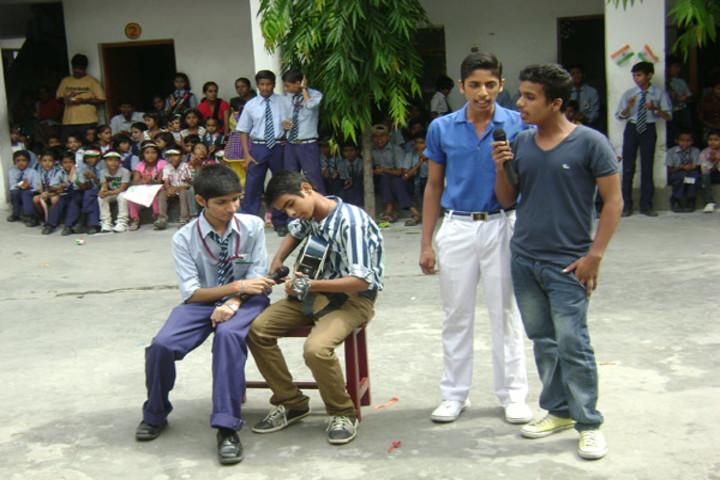 St Anthony Public School-Music