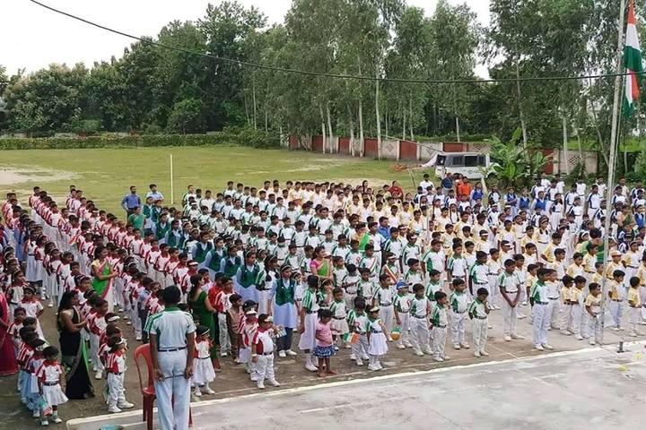 St Chandra Prabha Memorial Academy-Assembly