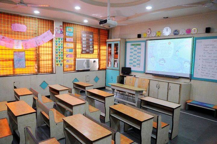 St Chandra Prabha Memorial Academy-Classroom