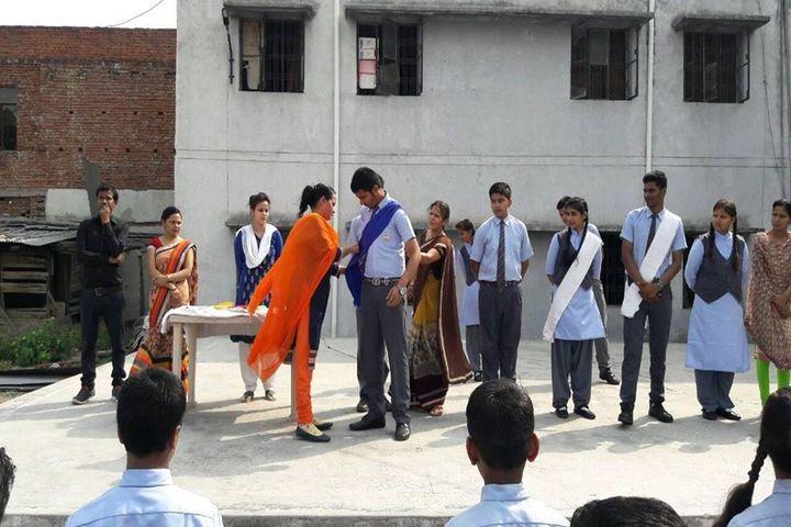 St Chandra Prabha Memorial Academy-Investiture Ceremony
