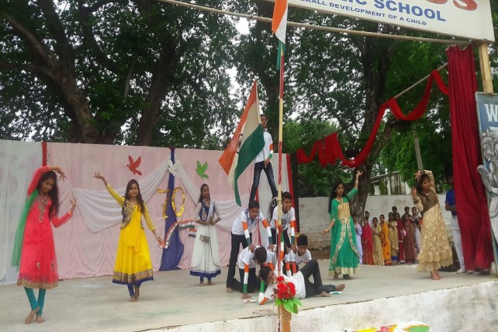 St Columbus International Public School-Independence Day Event