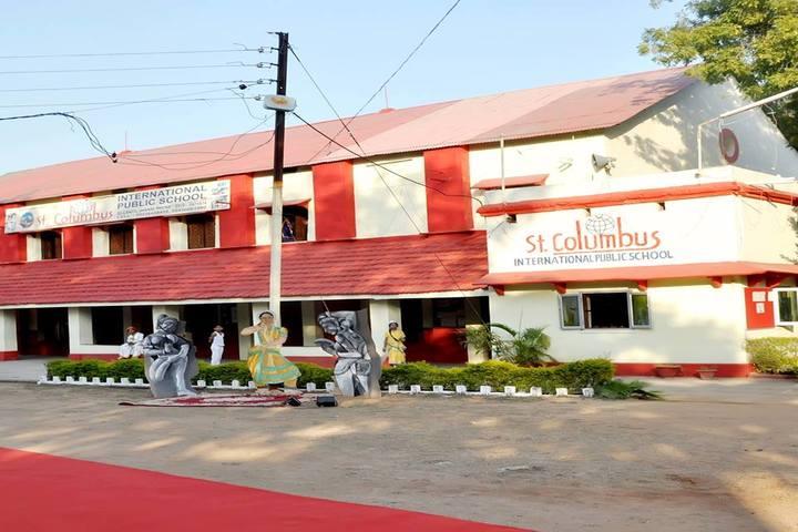 St Columbus International Public School-Campus