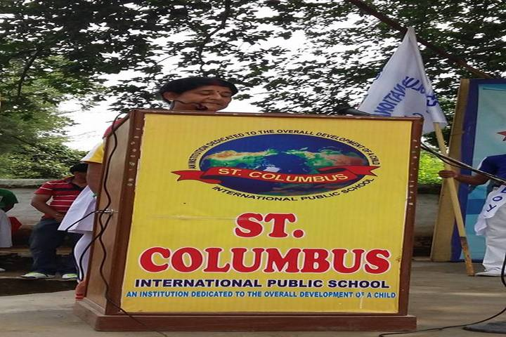 St Columbus International Public School-Speech