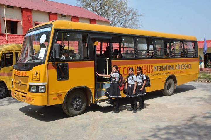St Columbus International Public School-Transport
