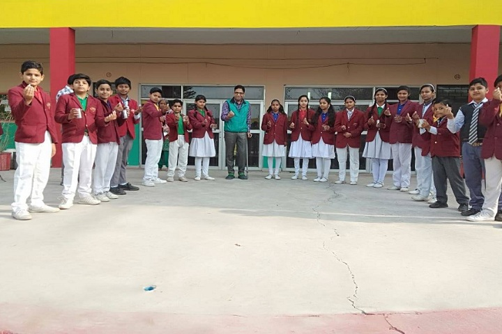 St Drona Public School-group photo