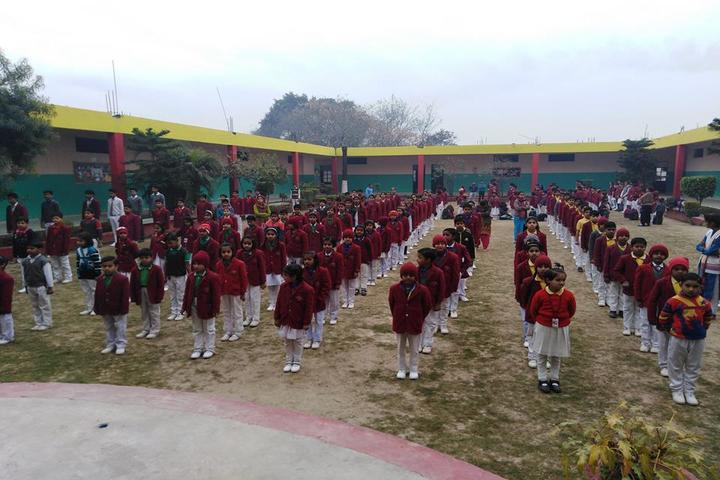 St Drona Public School-Assembly