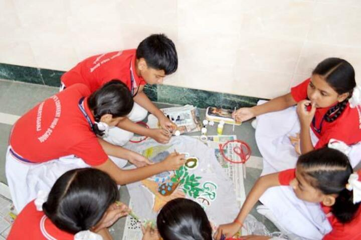 St Joseph Convent School-Art and Craft