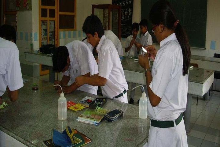 St Josephs School-Chemistry