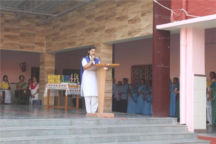 St JosephS Senior Secondary School-Speech