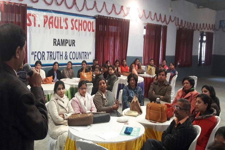 St PaulS School-Staff Meeting