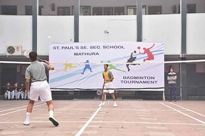 St Pauls Sr Sec School-Sports Badminton