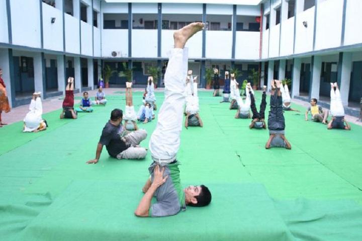 St Pauls Sr Sec School-Yoga