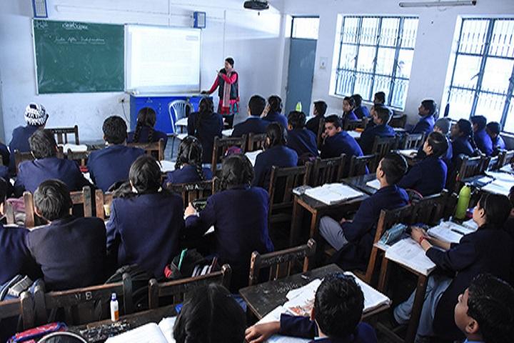 St Pauls Sr Sec School-classroom
