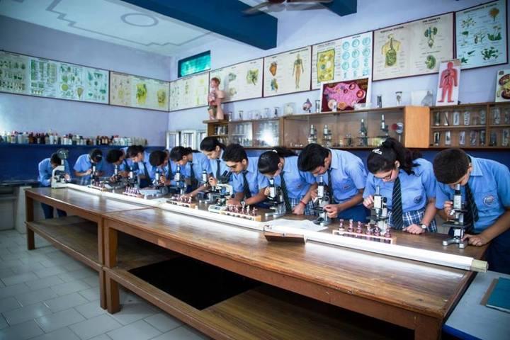 St R C Scientific Convent School-Biology Lab