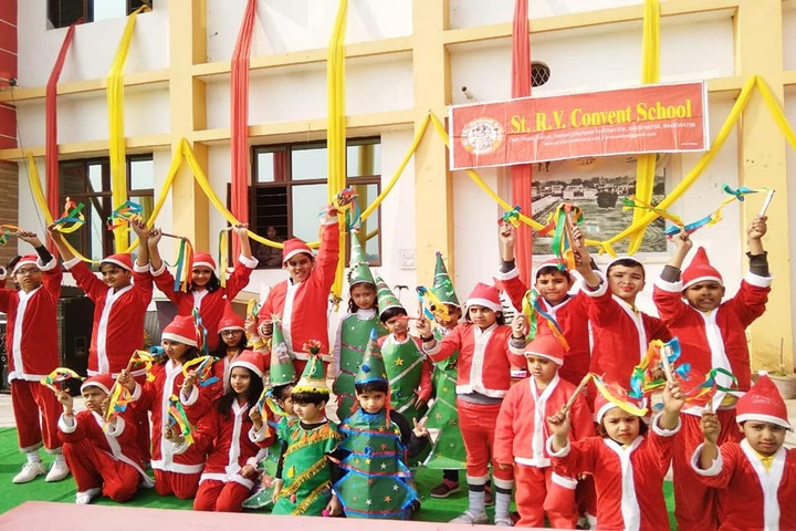 St R V Convent School-Christmas Celebrations
