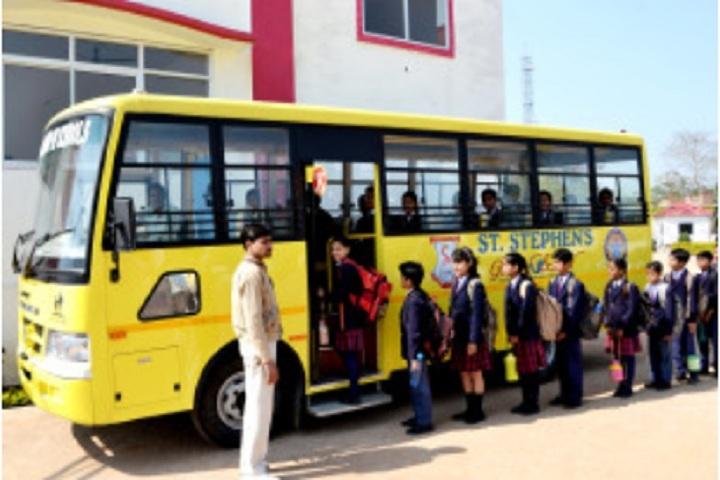 St Stephens Global School-Transport