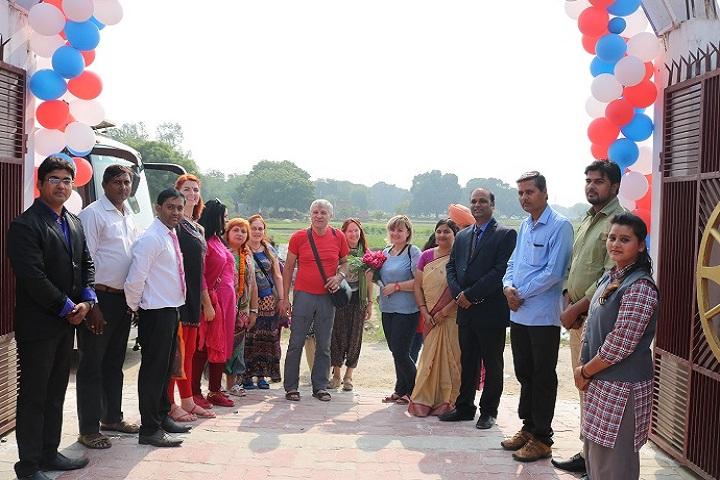 St Thomas International School-Welcoming guest