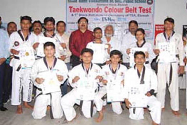 St Vivekanand Public School-Karate