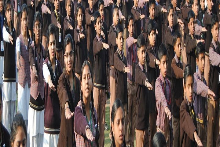 St Vivekanand Public School-Assembly