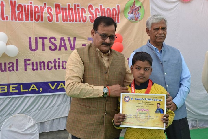 St Xaviers Public School-Certificate Distribution